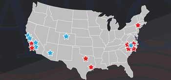 19 locations