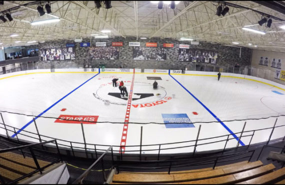 ASEC Renovates And Upgrades The L.A. Kings Training Ice Rink At The Toyota  Sports Center