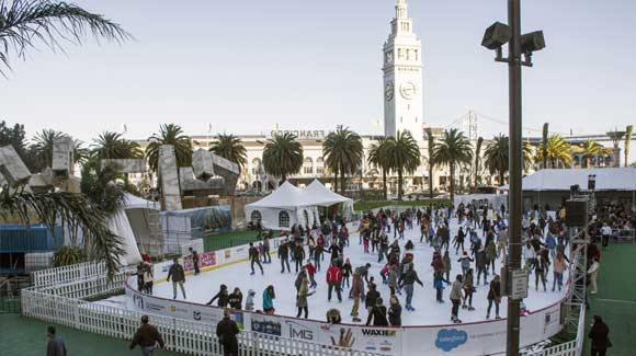 ASOC Awarded Holiday Ice at Embarcadero Center Management